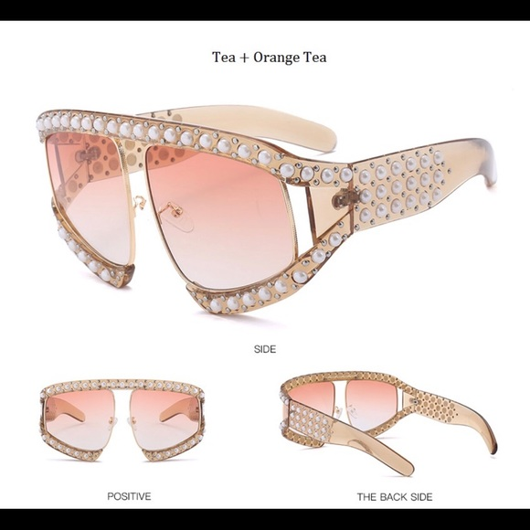 Accessories - Embellished Luxury Sunglasses